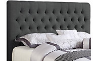 Coaster Chloe Charcoal Upholstered King Headboard