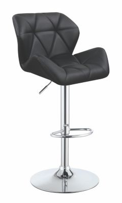 Coaster Everyday Black Adjustable Bar Stool