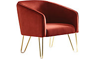 Coaster 905C Collection Red Accent Chair