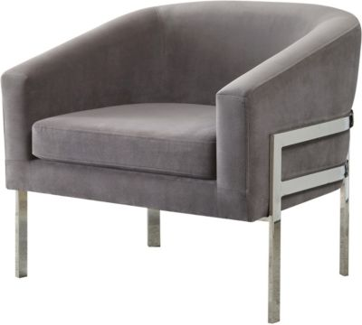 Coaster 902 Collection Gray Accent Chair