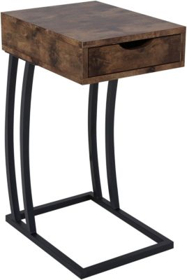 Coaster 900 Series Nutmeg Accent Table with Power