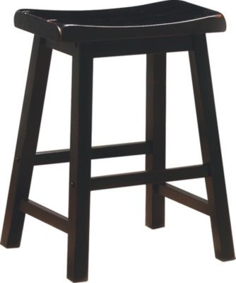 Coaster Everyday Black Counter Stool