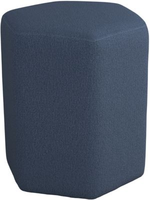 Coaster 918 Collection Blue Hexagon Ottoman