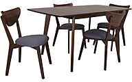 Coaster Alfredo 5-Piece Dining Set