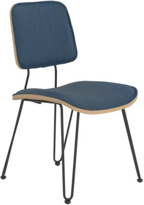 Coaster Everyday Blue Side Chair