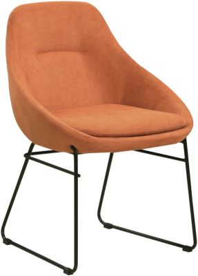 Coaster Dash Orange Side Chair