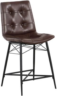Coaster Essence Brown Counter Stool