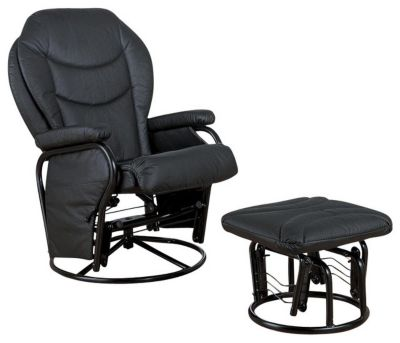 Coaster 2946 Collection Glider & Ottoman