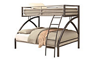 Coaster Twin/Full Metal Bunk Bed