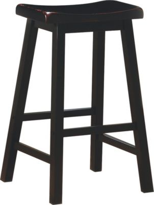 Coaster Everyday Black Barstool