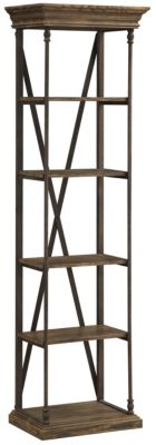 Coast To Coast Corbin 5-Tier Etagere Bookcase