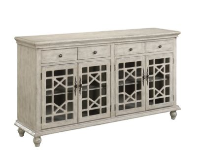 Coast To Coast 4 Drawer, 4 Door Credenza