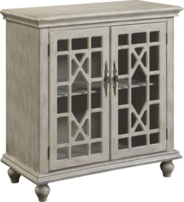 Coast To Coast Ivory 2-Door Cabinet