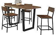 Coast To Coast Sequoia Counter Table & 4 Stools