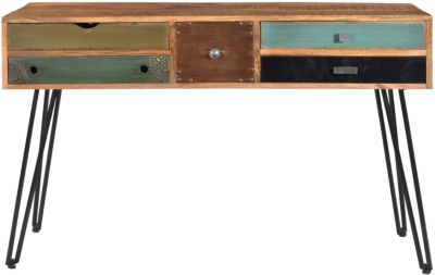 Coast To Coast Brisbane 5-Drawer Storage Console Table