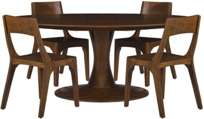 Coast To Coast Gallatin Oval Table & 4 Chairs