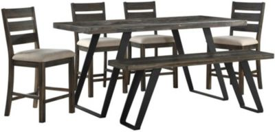 Coast To Coast Aspen Court 6-Piece Counter Height Dining Set