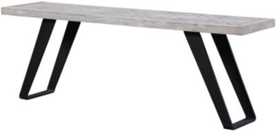 Coast To Coast Aspen Court White Counter Bench
