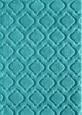 Central Oriental Weldon Teal 5' X 8' Rug