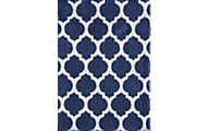 Central Oriental Sanborn Sail Blue/White 5' X 8' Rug
