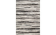 Central Oriental New Zealand 8' X 10' Gray Outdoor Rug