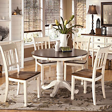 Casual Round Dining Set