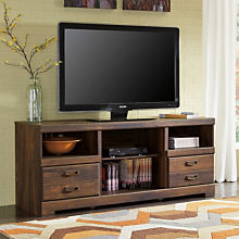 Casual Wood TV Stand