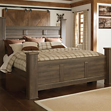 Casual Wood Bed