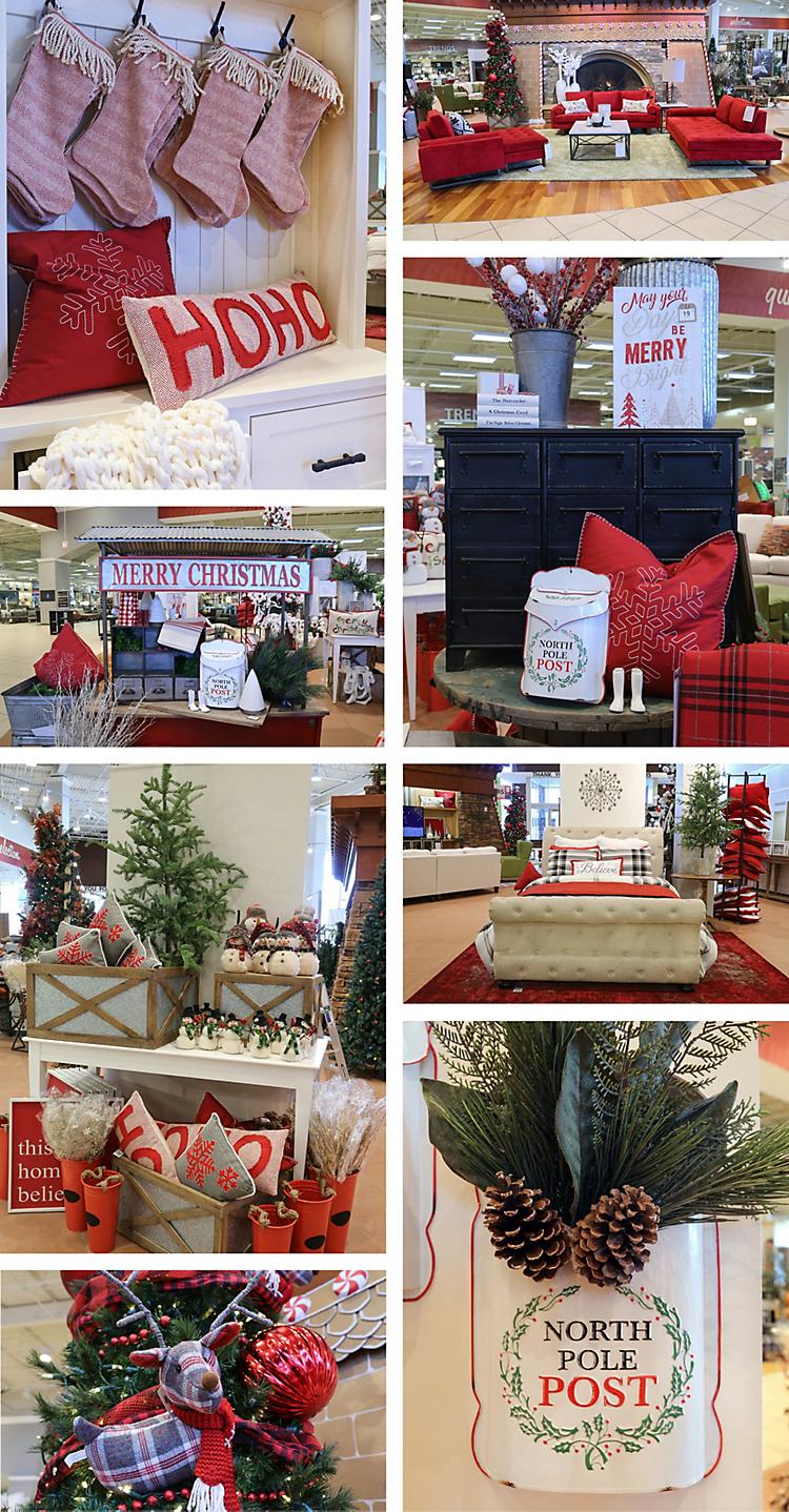 Christmas Marketplace Decor