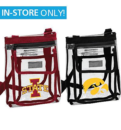 Cyclone or Hawkeye Clear Crossbody Bag