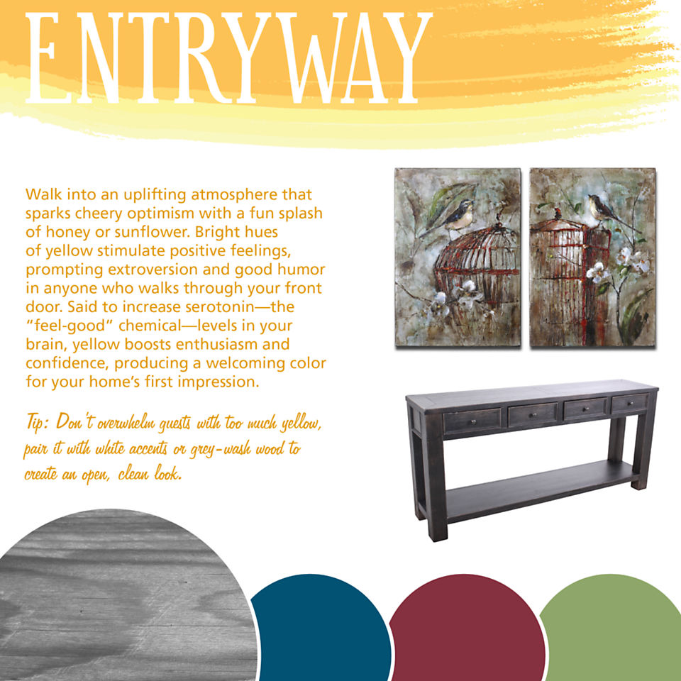 Entryway Color Theory