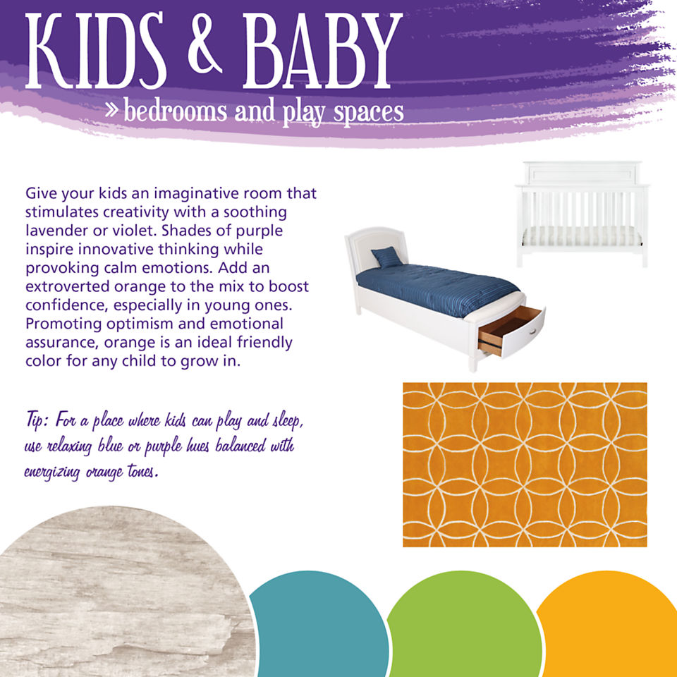 Kids & Baby Color Theory