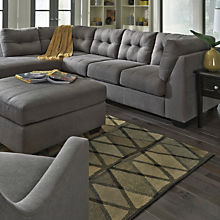 Contemporary Grey Sectional