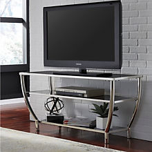 Contemporary Mirrored TV Stand