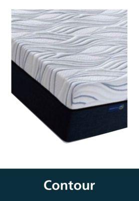 contour gel and foam mattresses