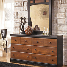 Rustic Farmhouse Dressers with Mirror