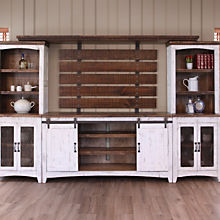 Rustic Farmhouse Entertainment Center Sets