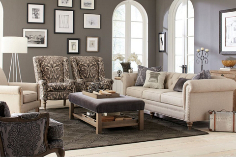 Craftmaster: American Made Living Room Furniture