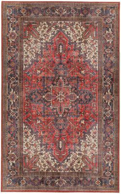 Dalyn Amanti Cardinal Red 5' X 8' Rug