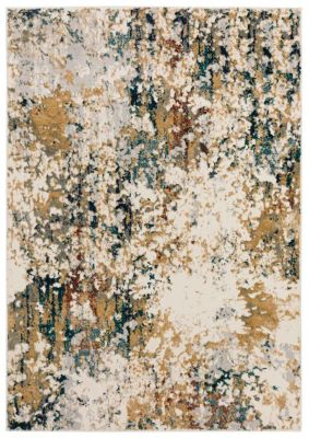 Dalyn Karma 2' X 8' Multi-Colored Rug