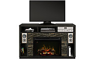 Dimplex Joseph Media Mantel Log Fireplace