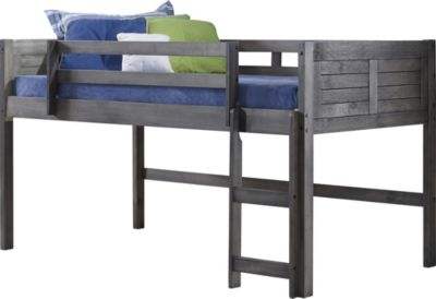 Donco Trading Co. Louver Twin Loft Bed