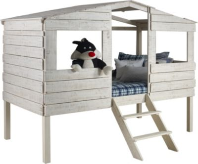 Donco Trading Co. Treehouse Rustic Sand Twin Loft Bed
