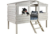 Donco Trading Co. Treehouse Rustic Sand Loft Bed