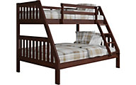 Donco Trading Co. Mission Twin/Full Bunk Bed