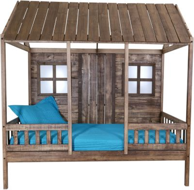 Donco Trading Co. Front Porch Twin Low Loft Bed