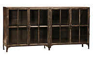 Dovetail York Metal Sideboard