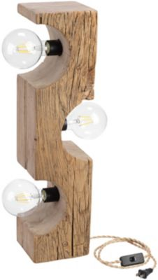 Dovetail White Pine Accent Lamp