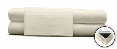 Dreamfit Choice Combed Cotton White Queen Sheets