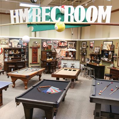 Rec and game room furniture